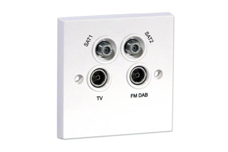 Buy labgear quadplex outlet module from atc supplies ltd for Modular quadplex